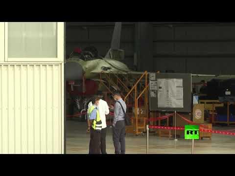 شاهد تدشين مركز لصيانة مقاتلات إف16 في تايوان