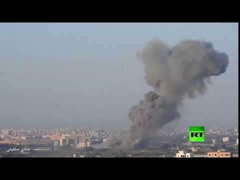 شاهد إسرائيل تستهدف مواقع للمقاومة الفلسطينية في غزة